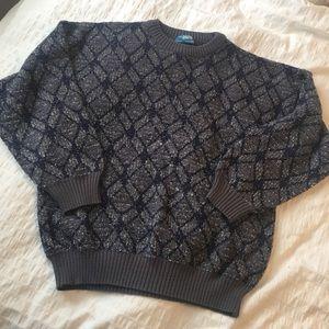 Vintage Sweaters - Vintage   Grandpa Sweater